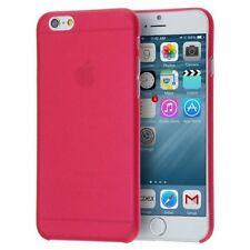 Housses et coques anti-chocs rouge simples pour téléphone mobile et assistant personnel (PDA) Apple
