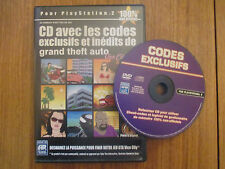 Action Replay (cd triche) GTA Vice City ~~ Accessoire PS2