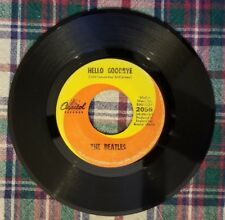 Vintage 45 RPM The Beatles Hello Goodbye & I Am the Walrus Capitol 2056 1967