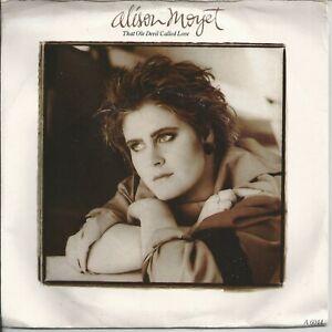 """Alison Moyet - That Ole Devil Called Love 7"""" Vinyl Single 1985"""
