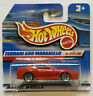 2000 Hotwheels Ferrari 550 Maranello Red European Short Card Release MOC!