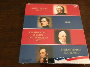 2010 Presidential Dollar Coins Uncirculated Set (PD)