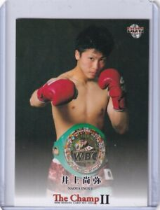 #31 Naoya Inoue Rookie card RC  / BBM  2014THE CHAMP 3