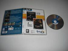 Dieb 1 & 2 II PC DVD ROM so 1 & 2-schneller Versand