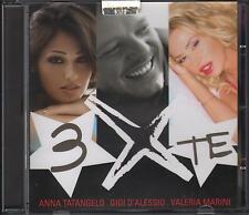 "ANNA TATANGELO  GIGI D'ALESSIO  VALERIA MARINI -RARO CD CON AUTOGRAFO "" 3 X TE """