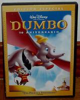 DUMBO CLASICO DISNEY Nº4 DVD EDICION ESPECIAL NUEVO DESPRECINTADO ANIMACION R2