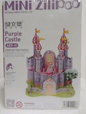 New 3D Mini Model Puzzle Of Purple Castle, Perfect Girls Christmas Present Gift