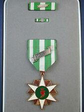 GENUINE RVN SOUTH VIETNAM AUSTRALIA USA CAMPAIGN MEDAL WITH 1960 BAR CASED