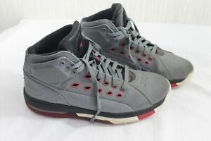 Nike Air Jordan 15 Ol School Off Court Grey Red Shoes 317223-012 Men's Size 11.5
