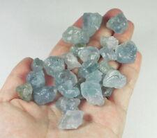 449.2Ct Natural Blue Celestite Crystal Facet Rough Specimen YLL1