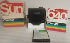 Vintage POLAROID SUN 660 Instant Autofocus CAMERA 600 SERIES With Box Manual