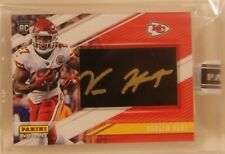 Kareem Hunt RC Rookie 2017 Panini Instant #5/5 GOLD INK AUTO Black Friday Chiefs