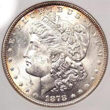 1878 VAM-162 7TF Morgan Silver Dollar $1 - ANACS MS60 Details - Rare Variety!