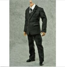 ZY TOYS 1/6 MIB Men in Black Suit+Shirt Set for enterbay HOT action figure Body