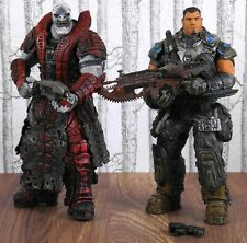 Gears Of War Set Of 2 Figures (Dominic Santiago & Theron Guard) NECA Toys