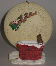 Hallmark Keepsake Ornament Happy Christmas to All - Santa & Sleigh - KOC Club