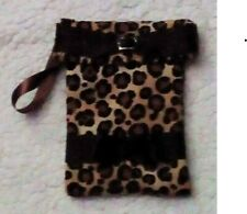 Mobile Phone Pouch / Cover Fleece Lined 'UK'
