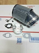 Air Filter Adapter Kit w/ custom  jets, Predator 212,Honda Clone, USA Shipping