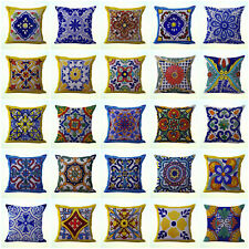 Us Seller- wholesale 50 cushion covers talavera Mexican Spanish cheap decorative