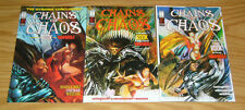 Chains of Chaos #1-3 VF/NM complete series - vampirella & rook - john stinsman 2