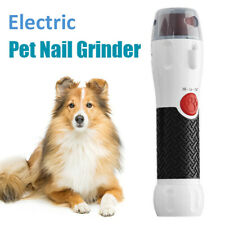 Pet Nail Rotating File for Dogs Cats Electric PliersTrimmer Claw Grooming Tools
