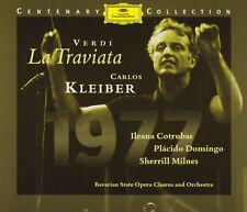 VERDI: LA TRAVIATA Ileana Cotrubas, Placido Domingo Carlos Kleiber 2 CDs wie neu