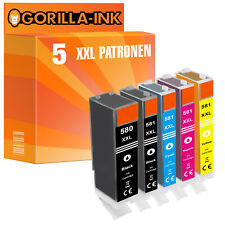 5er Set Patronen XXL für Canon Pixma TS 6251 TS 6350 TS 6351 TS 705 TS 8150