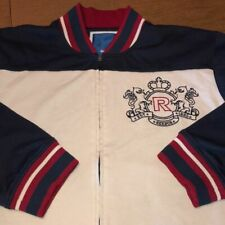 VTG REEBOK Embroidered Soft Sweatshirt Jacket XL