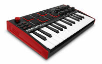 Akai MPK Mini MK3 USB MIDI Controller Keyboard 25 Minitasten 8 MPC Pads Software