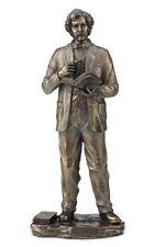 "11"" Mark Twain Standing Statue Sculpture American Writer Figure Figurine"