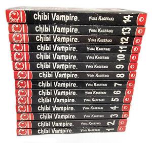 Chibi Vampire by Yuna Kagesaki Volume 1 - 14 Tokyopop Manga English