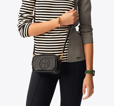 ON HAND Authentic TORY BURCH PERRY BOMBÉ MINI BAG - BLACK