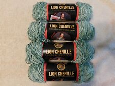 Lot Of 4, Lion Chenille Yarn, Sage, 21294.03