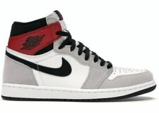AIR JORDAN 1 GS HIGH OG LIGHT SMOKE GREY IN HAND SIZE 7Y 575441-126 *Authentic*