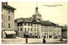 CPA 74 Haute-Savoie Evian-les-Bains Place du marché animé