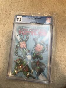 Teenage Mutant Ninja Turtles #25 CGC 9.6 NM+ WP Mirage