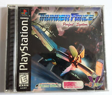 Thunder Force V Perfect System (Sony PlayStation 1, 1998) PS1 PS2 PS3 RARE! N/A