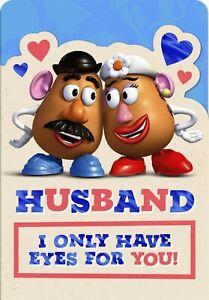Hallmark Disney Mr. And mrs. Potato Husband Birthday Card