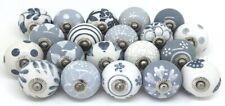 Wholesale Gray/White Ceramic Door Knobs Kitchen Knob Pull Drawer Cabinet Puller