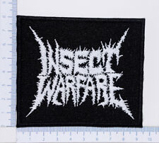 INSECT WARFARE 01 embroidered patch, thermal glue on the back