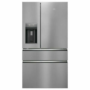 AEG RMB954F9VX American Fridge Freezer - Stainless Steel - F Rated New