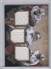 2014 Topps Triple Threads Relic Dez Bryant Emmitt Smith Tony Romo 17/36