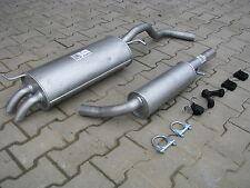 Audi A3 Seat Leon Vw Beetle Golf IV 1.8 20V 2.0 exhaust system silencer *F008