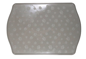 """Large Raised Feeding Placemat for Cat Pet Dog 18.5""""x13"""" Waterproof FREE SHIPPING"""