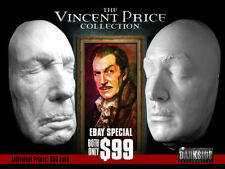 NEW VINCENT PRICE COLLECTION LIFE-SIZE Life Cast Life Masks in Lightweight Resin
