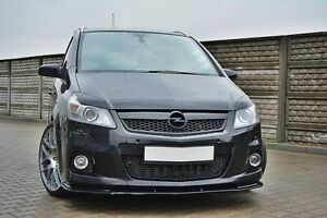 Spoilerlippe Frontspoiler Spoiler für Opel Zafira B OPC Bj. 05-11 CUP schwarze