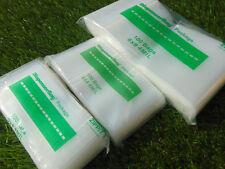 300 Ziplock Baggies 4mil Assortment 3 Sizes 3x4 4x4 6x9 Heavy Duty Bags 100 Each