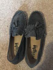 Mens Frank Wright tassel loafers UK 8