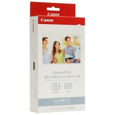 KIT CANON SELPHY CP KP-36IP PAPER FORMAT POST CARD 10 X 15 + CARTRIDGE