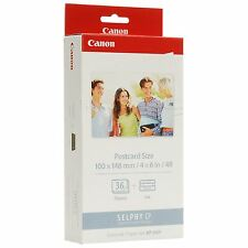 KIT CANON SELPHY CP KP-36IP CARTA FORMATO POST CARD 10 X 15 + CARTUCCIA